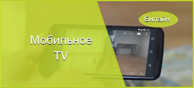 Телевидение от Билайна