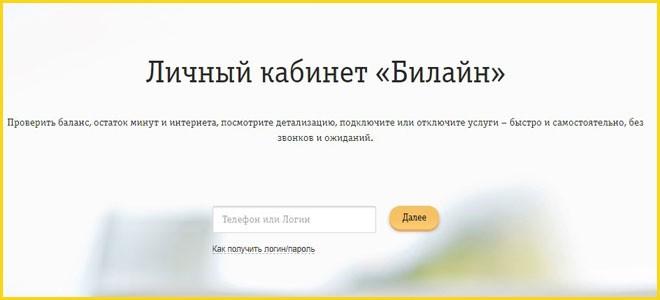 Вход в систему через сайт