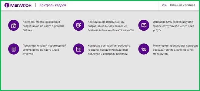 Функции сервиса
