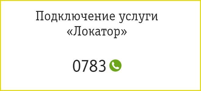 Номер подключения услуги
