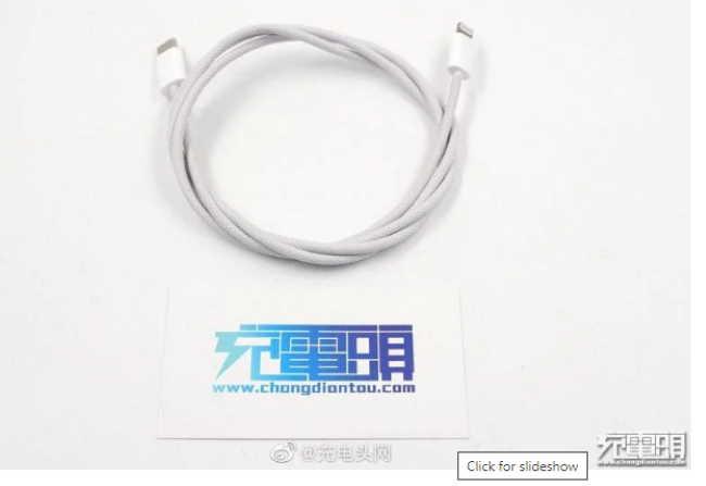 сообщения о плетеном кабеле Lightning верны