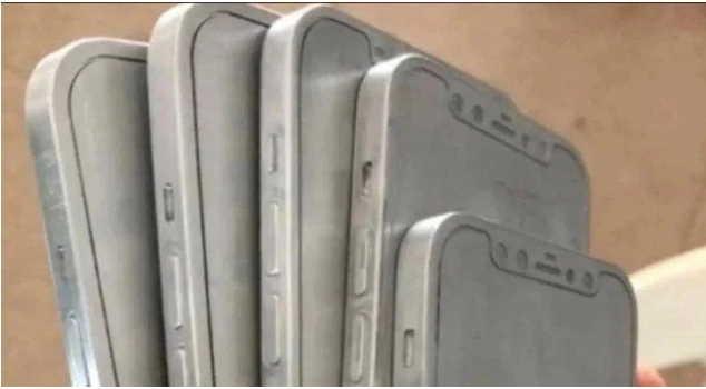 алюминиевые «формы» iPhone 12