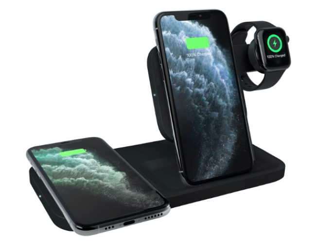 док-станция Logitech POWERED 3-in-1 - удобный способ одновременной зарядки iPhone, Apple Watch и AirPods