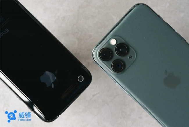 iPhone 11 Pro против. iPhone 3GS