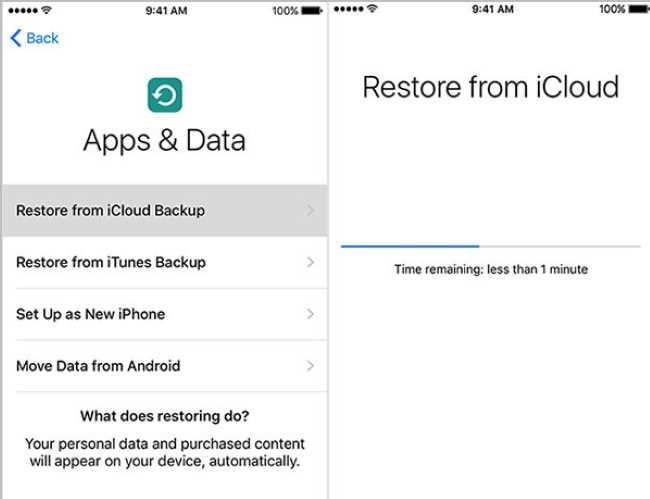 Передача WhatsApp с iPhone на iPhone