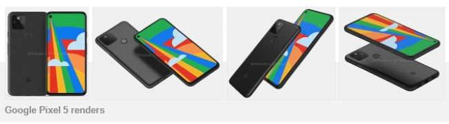 Рендеры Google Pixel 5 показывают дизайн, почти идентичный 4a