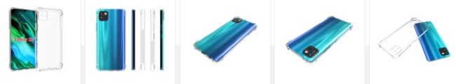 Рендеры чехлов Huawei Enjoy 20