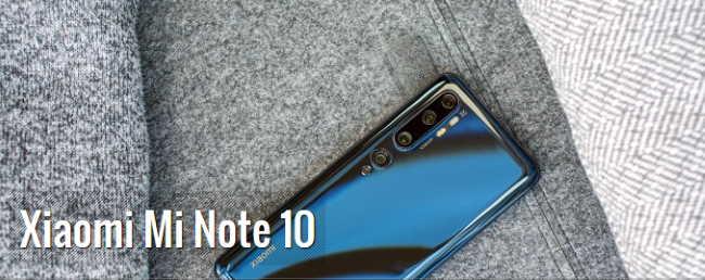 Лучшие камерофоны 2020 года - руководство покупателя Смартфон Xiaomi Mi Note 10