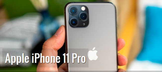 Лучшие камерофоны 2020 года - руководство покупателя Смартфон Apple iPhone 11 Pro