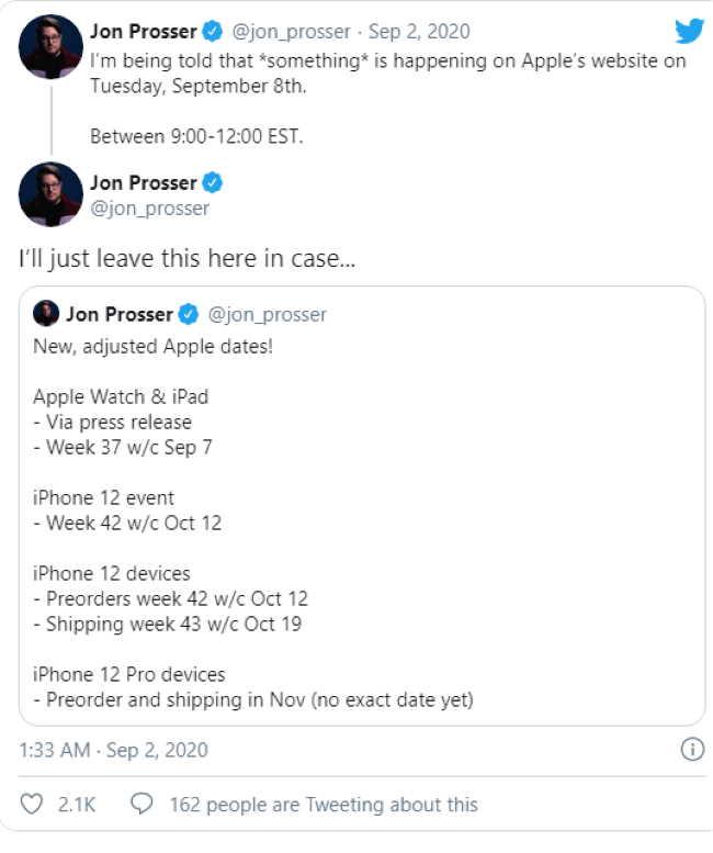 Новые iPad и Apple Watch появятся 8 сентября